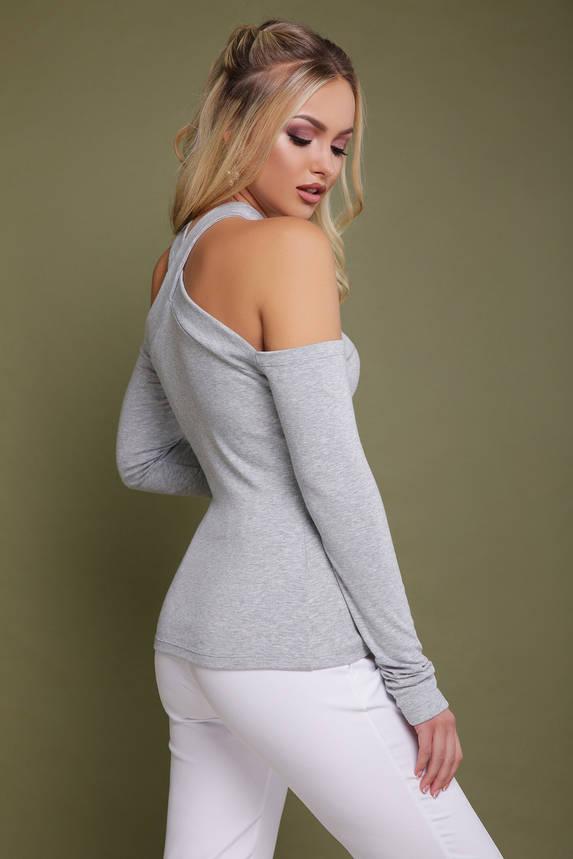 Стильная и модная женская серая кофточка , фото 2