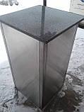 Урна промышленная из нержавеющей стали б/у, урна для кафе б у, нержавеющая урна б/у, фото 6