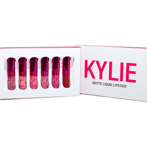 Набор матовых помад Kylie Valentine Collection, суперстойкие помады Kylie