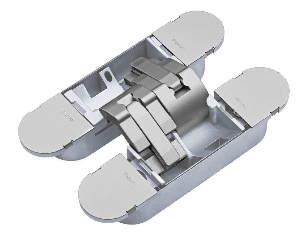 Петля 3D регулируемая пластиковая