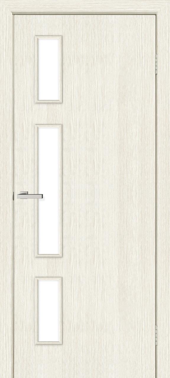 Соло дверное полотно остекленное сосна сицилия