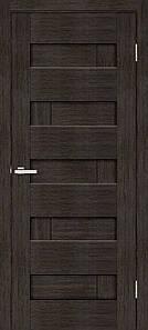 Дверное полотно Омис глухое венге Домино
