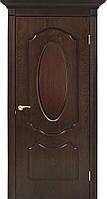 Двери шпонированные Оливия полотно глухое орех lux, фото 1