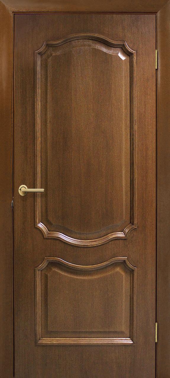 Дверне полотно шпонированное Оміс глухе Горіх Кармен