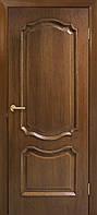 Двери шпонированные глухие орех Кармен