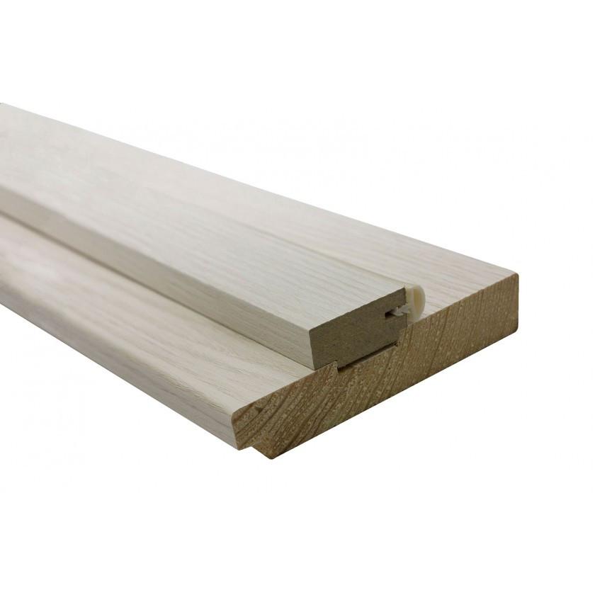 Дверная коробка сосна cortex 100х33х2050 мм дуб bianco (комплект)