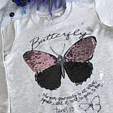 Свитшот на девочку Breeze 2-10. Размеры 128 см, фото 2