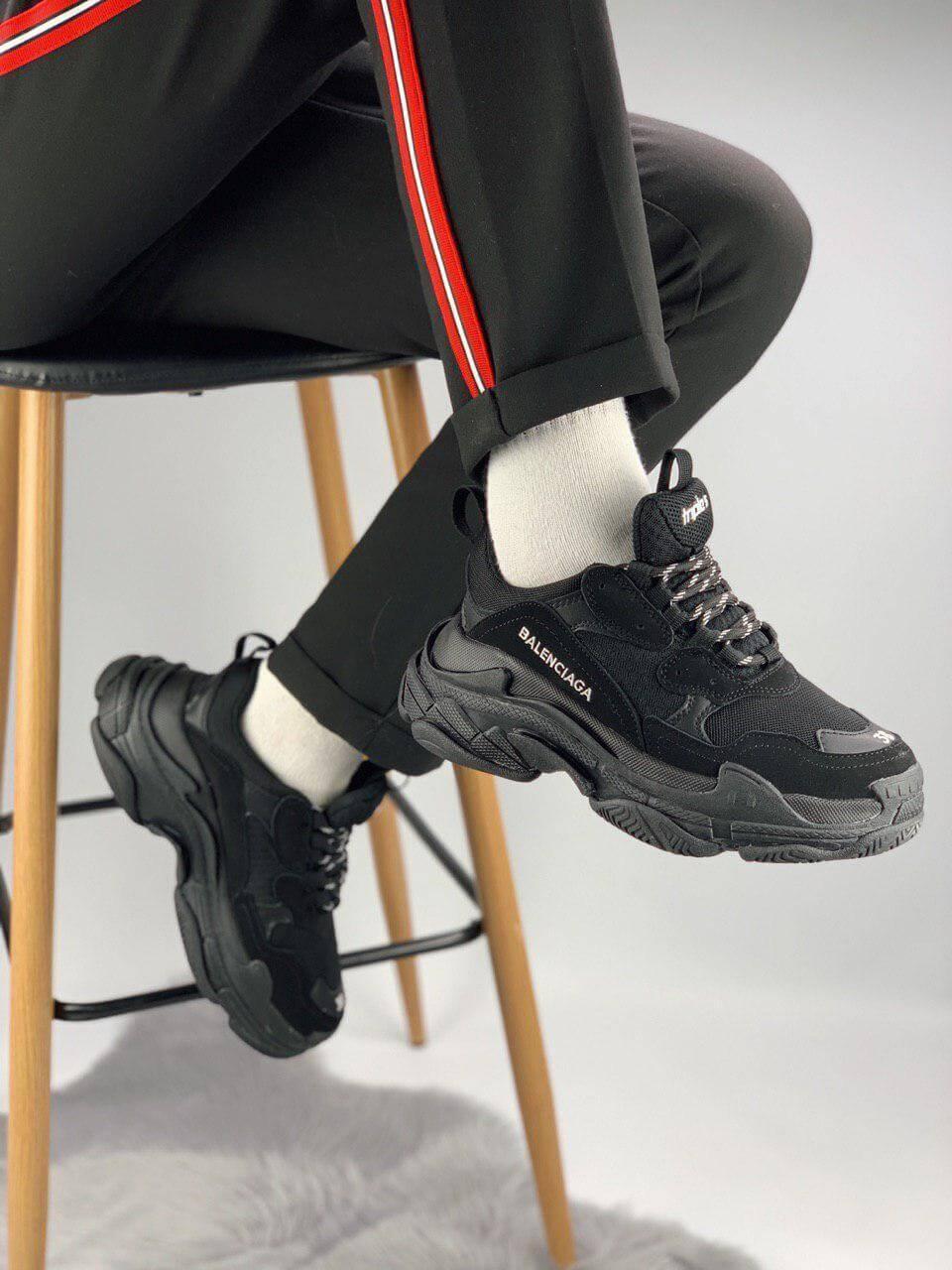 Кроссовки Balenciaga Triple S Triple Black