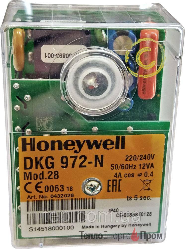 Блок управления Honeywell DKG 972-N mod. 28
