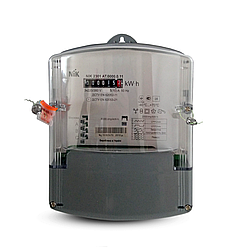 Электросчетчик NIK 2301 AT.0000.0.11 3х220/380В 5(10)А,трехфазный однотарифный (аналог НІК 2301АК1В)