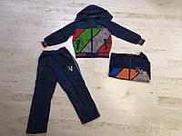 Спортивный костюм 2 в 1 для мальчика оптом, Crossfire, 134-164 см,  № CR6805, фото 1