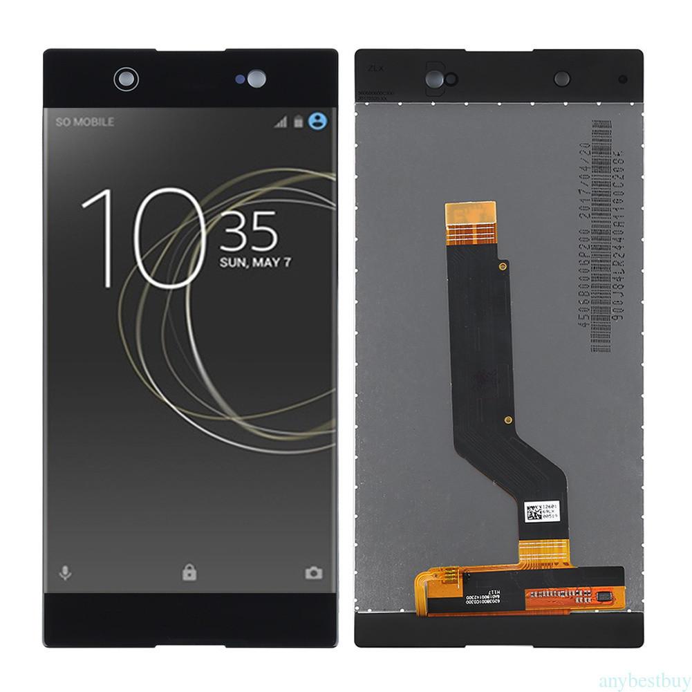 Дисплей для Sony G3212 Xperia XA1 Ultra Dual/G3221/G3223/G3226 с тачскрином черный Оригинал
