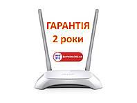 Беспроводной маршрутизатор роутер TP-Link TL-WR840N v2 (N300, 1*Wan, 4*Lan, IPTV Мulticast, 2 антенны)