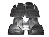 Коврики в салон Fiat Doblo 2001 - 2010 черный, кт - 4шт
