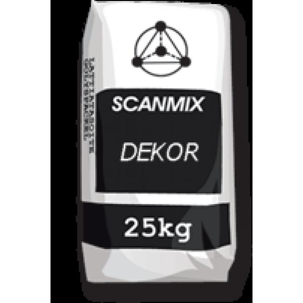 Фасадная штукатурка короед Scanmix DEKOR(25 кг)