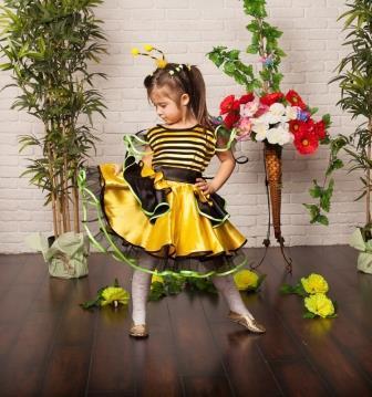 """Детский карнавальный костюм """"Пчела"""" для девочки"""
