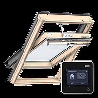 Мансардное окно Velux Premium SOLAR GGU007030  114*140 СМ