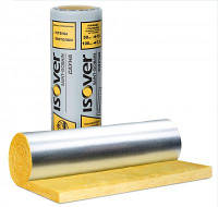 Утеплитель фольгированный минеральная вата ISOVER (ИЗОВЕР)   САУНА 50 мм (15 м2/упк)