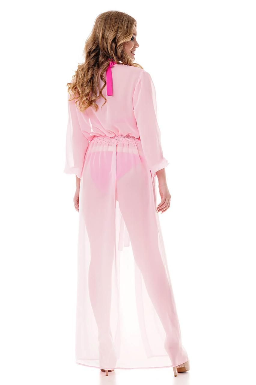 b91b164229e030a Купить Летнее длинное пляжное парео Туника розовая по выгодной цене ...