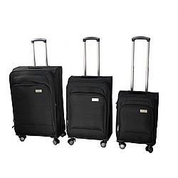 Набор чемоданов Luggage HQ 3 шт Черный (5107-0001)