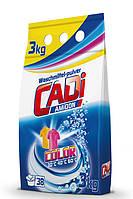 Cadi Color стиральный порошок для цветных тканей 3 кг п/е