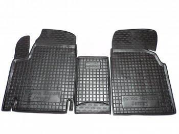Коврики в салон Fiat Scudo/Citroen Jumpy (1,6) 1997-2004 -> черный