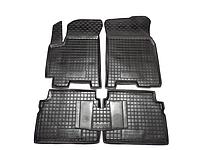 Коврики в салон Chevrolet Aveo 2011 -> черный, кт - 4шт