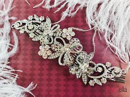 Гребешок для волос Цветок диадема на свадьбу или любое торжество
