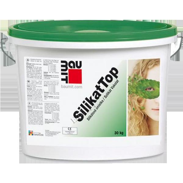 Baumit SilikatTop Декоративная фасадная штукатурка барашек силикон-силикатная  3,0 к  25 кг