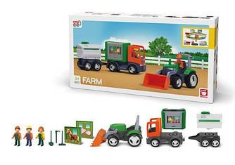 Набор машинок MultiGO Фермерский (27312)