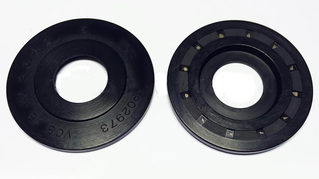 Сальник рулевой рейки Ланос с ГУР верх (пыльник) 16,00/40,00*2,50 тип 8, F-00340