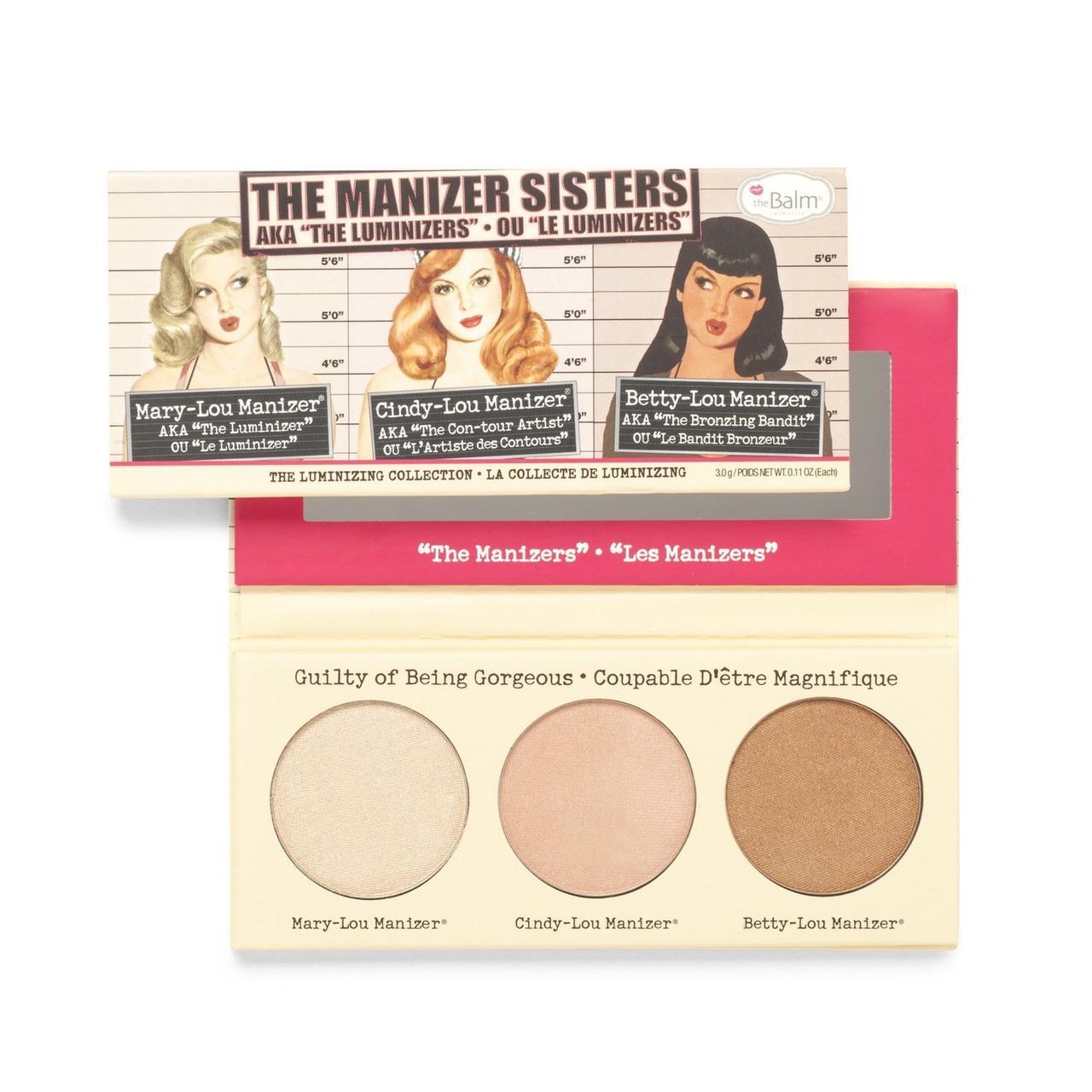 Набор хайлайтеров theBalm The Manizer Sisters