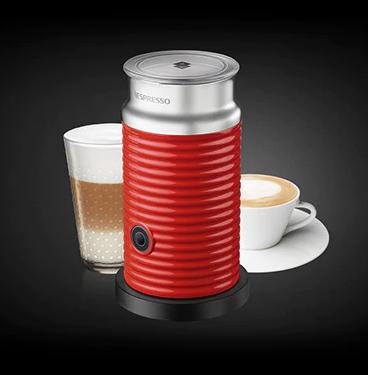 Капучинатор Nespresso Aeroccino 3 Красный (Вспениватель молока)