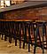 Барный табурет Делия в стиле лофт, дерево+ металл черный от SDM Group, фото 7