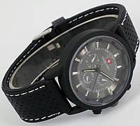 Уцененные часы мужские Swiss Army Black Rainger