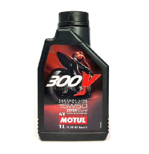Масло моторное Motul 300V 4T Factory Line Road Racing 15W-50 1л