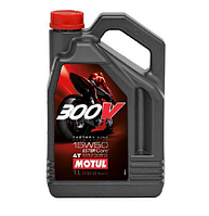 Масло моторное Motul 300V 4T Factory Line Road Racing 15W-50 4л
