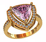 Кольцо  женское серебряное Triangle 111 730, фото 2