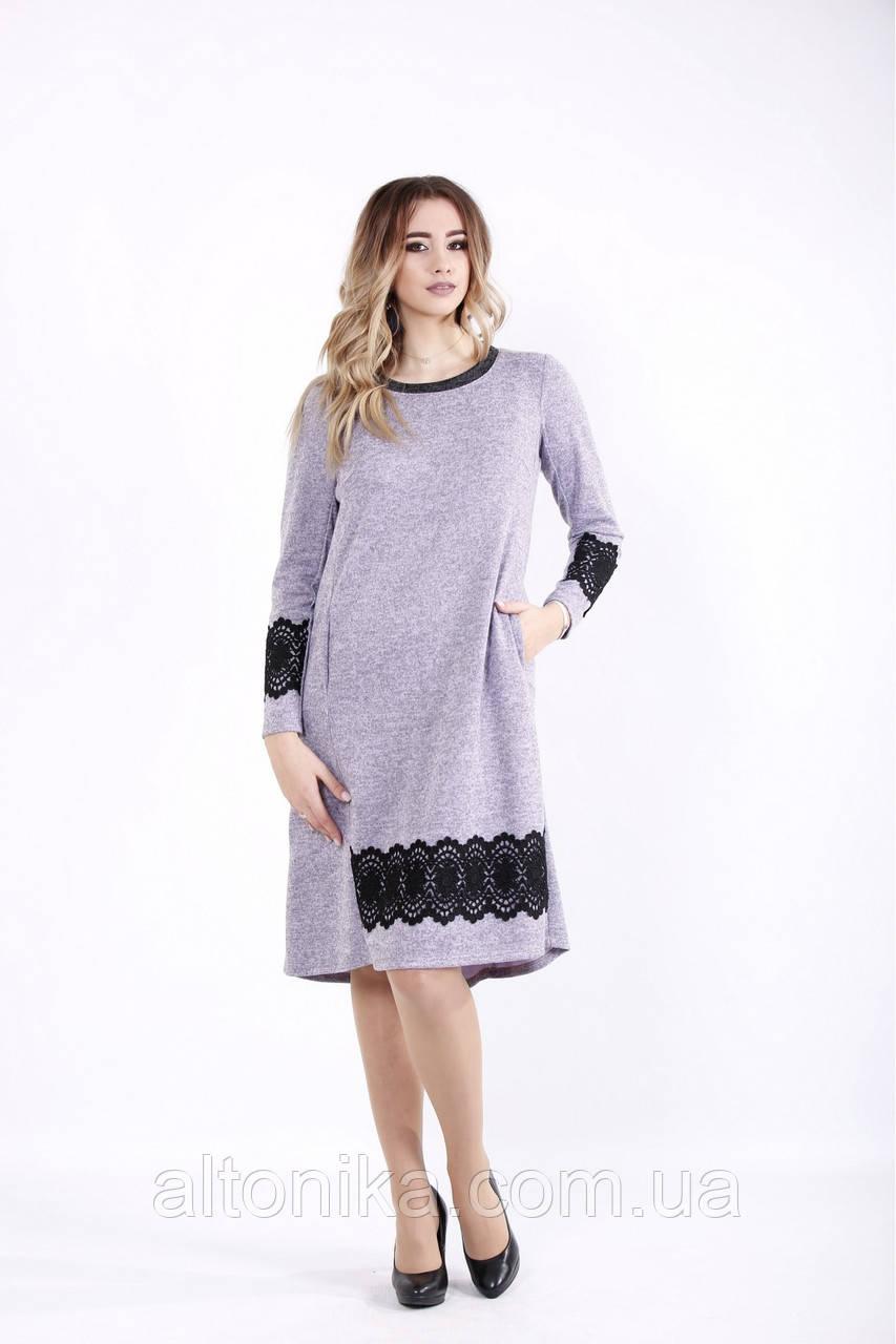 Платье с кружевом  | 42-74