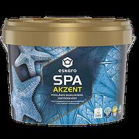 Полуглянцевая краска Eskaro Akzent Spa 2,7л для ванных комнат