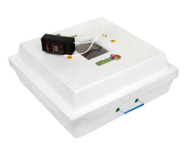 Инкубатор Рябушка-2 ручной переворот, цифровой, 70 яиц, литым корпусом, инфракрасный нагреватель