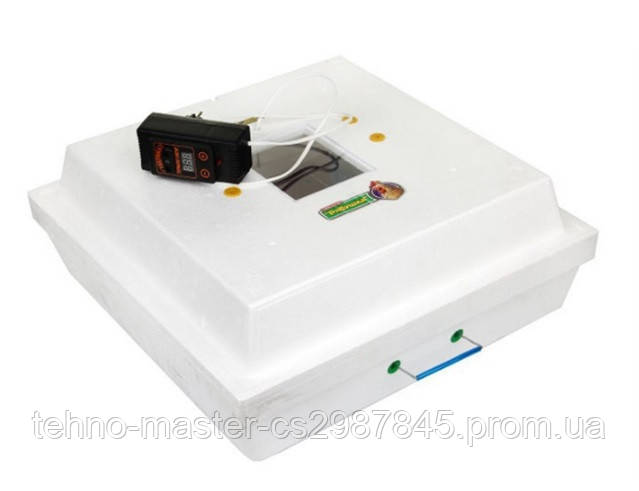 Инкубатор Рябушка-2  механический переворот, цифровой, 70 яиц, литым корпусом, инфракрасный нагреватель
