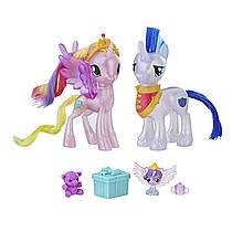 Игрушки Май Литл Пони Принцесса Каденс, Шайнинг Армор, малышка Фларри Харт My Little Pony