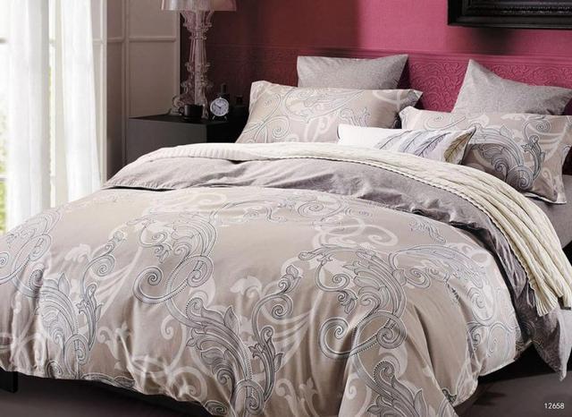 Комплект постельного белья евро Монако