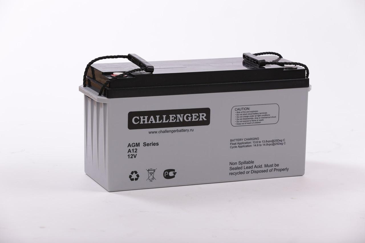 Аккумулятор AGM - 260 Ач, 12В гелевый Challenger A12-260