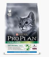 Сухой корм Pro Plan Sterilised для стерилизованных котов с кроликом 10 кг