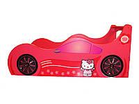 Кровать машина Hello kitty Детская кровать машина Хелло Китти Серия Forsage , фото 1