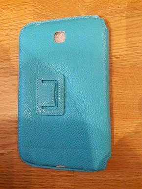 Чехол Yoobao Executive Leather Case для планшета Samsung Galaxy Note 10.1 N8000/N8010/N8013 бирюзовый, фото 2