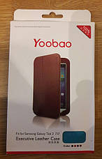 Чехол Yoobao Executive Leather Case для планшета Samsung Galaxy Note 10.1 N8000/N8010/N8013 бирюзовый, фото 3