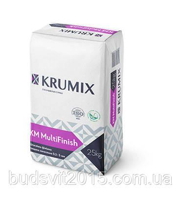 Шпаклевка гипсовая финишная KM MultiFinish Krumix 25кг